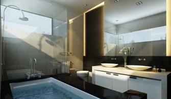 Modern Geniş Banyo Modelleri
