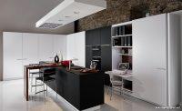 Modern Siyah Beyaz Mutfak Tasarımları