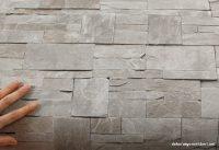 Mutfaklar İçin Taş Desenli Duvar Kağıdı