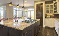 Mutfaklarda Doğal Ahşap Dolaplar