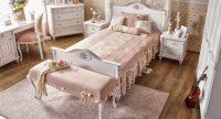 Pudra Rengi Yatak Odası Modelleri