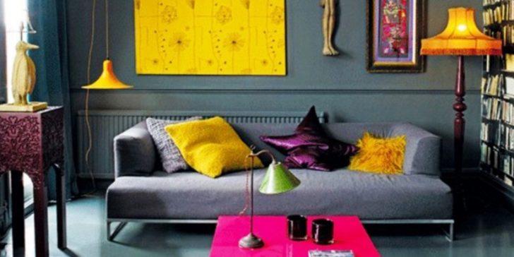 Cıvıl Cıvıl Rengarenk Ev Dekorasyonu Fikirleri