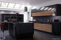 Siyah Renk Mükemmel Modern Mutfak Dekorasyonu