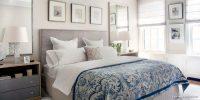 Tablolarla Dekore Edilmiş Yatak Odası