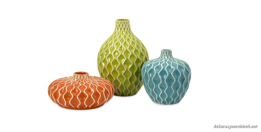 Ufak Dekoratif Vazo Modelleri