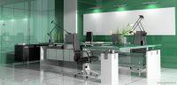 Yeşil Renk Modern Ofis Tasarımları