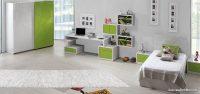 Zebrano Emerald Yeşil Renk Çocuk Odası Modelleri