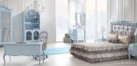 Zebrano İglo Mavi Renk Çocuk Odası Modelleri