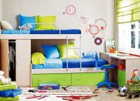 2 Kişilik Çocuk Odası Dekorasyonu
