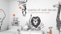 Çocuk Odaları İçin Keyifli ve Mutlu Sticker Modelleri