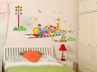 Çocuk Odası İçin Çizgi Film Stickerleri