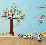 Çocuk Odası Maymunlu Sticker