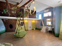 Orman Temalı İlginç Çocuk Odası