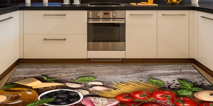 Mutfaklar İçin Halı Fikirleri