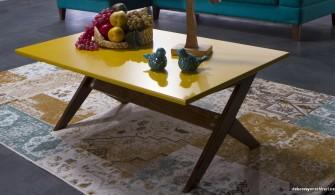 Bellona Vivent Orta Sehpa Sarı Renk