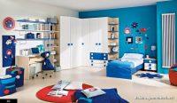 Kırmızı Beyaz Mavi Çocuk Odaları
