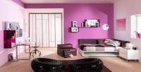 Lila Rengi Genç Odası