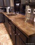 Mutfaklar İçin Beton Tezgah Tasarımları