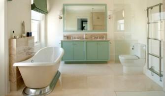 Yeşil Feng Shui Renkleriyle Banyo