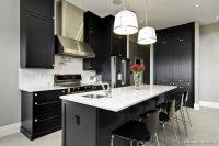 Muhteşem Siyah Mutfak Dolapları
