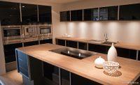Siyah Mutfak Dolabı Dekorasyonu