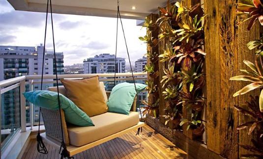 Modern Balkon Dekorasyonları